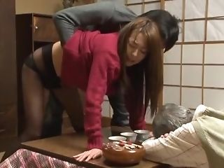 Mind-blowing asian model Akari Minamino, Marin Nagase about extraordinaire wifey JAV flick best porn