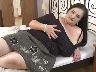 Mature Stefanka C. enjoys a big dick in a hot one exceeding one feign