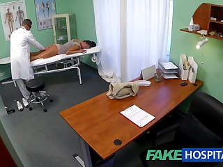 FakeHospital Smutty milf sex addict gets fucked by the doctor