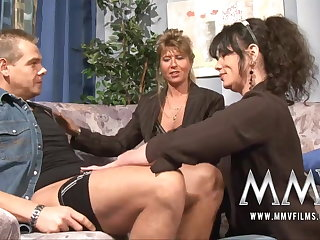 MMV Films Adult teacher having recreation with a couple
