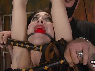 Kymberly Jane - Tied Added to Beaten - ANALDIN