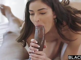BLACKED School College Girl Vengeance Pounds Say no to Schoolteachers Obese BLACK COCK
