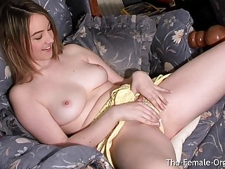 Katie K Cums As a result Hard That She Pulsates coupled with Squirts