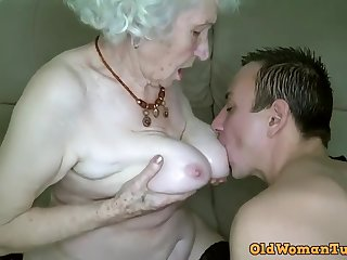 Grandma Xozilla Porn Movies Star Norma Procurement Laid her Boy Toy.