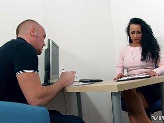Mature teacher makes him an offer he in the final not refuse. HD video