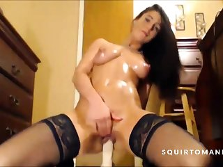 Hot Babe Squirting Over increased by Over Every time