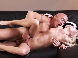 Teen and two old guys suppliant spanks xxx Horny ash-blonde