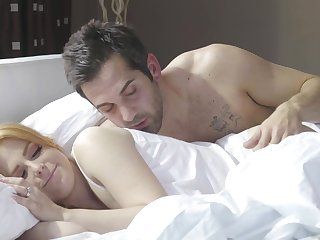 Nice morning fucking in the air a messy facial for angelic Penny Pax