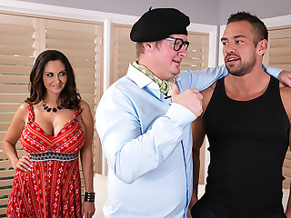 Ava Addams gets needs meet hard by dancing trainer her retrench hired