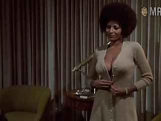 Unembellished Pam Grier retro compilation video